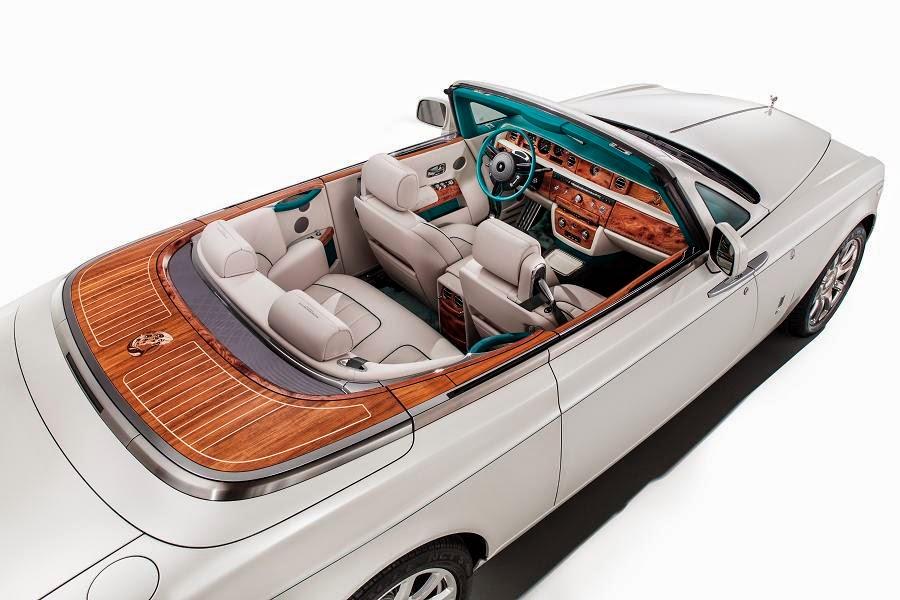 Rolls-Royce Maharaja Phantom Drophead Coupé (2014) Rear Side