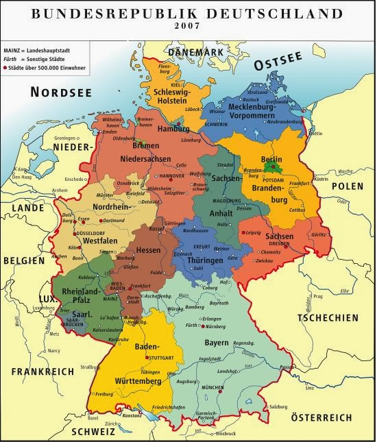 de Alemania Politico Geografia