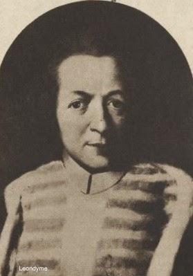 Kanunnik Christiaan Terninck 1667-1745. Stichter Terninck-school. Zondagsvriend 14-08-1932, verzameling Leondyme.