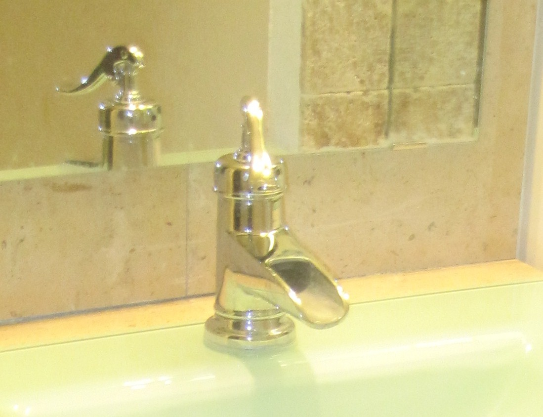 Pfister kitchen faucet low pressure you may kohler hole - No water pressure in kitchen sink ...