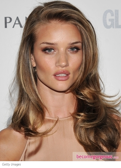 : Pics Of Rosie Huntington Whiteley Hairstyles , Rosie Huntington
