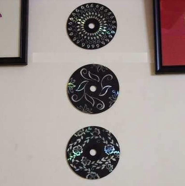 El baul de candy cd s usados - Manualidades con cd usados ...