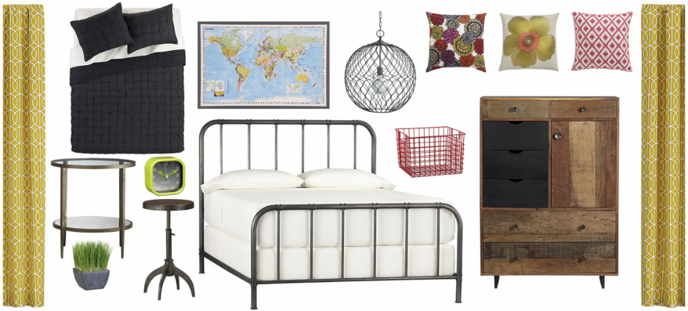 One Place One Space Crate And Barrel Bedroom