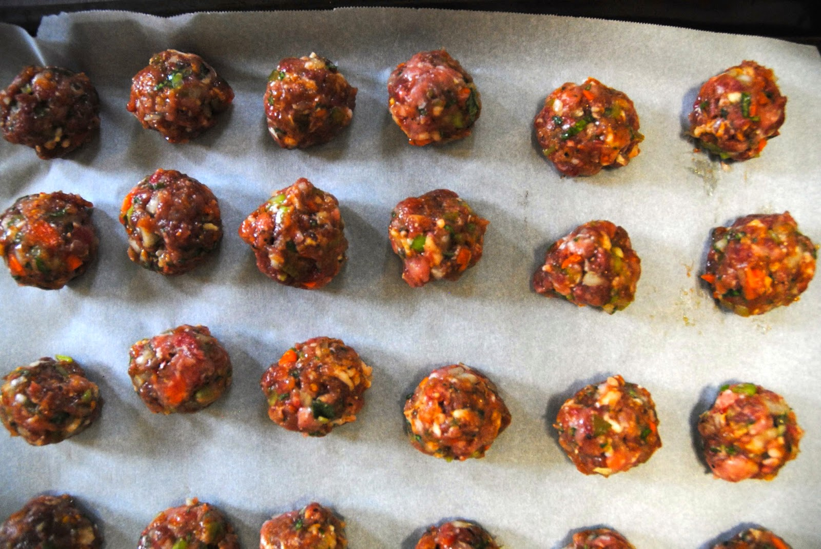 paleo vegetable meatballs