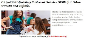 Customer Service Skills for Salon Owners and Stylists.