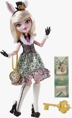 JUGUETES - Ever After High - Bunny Blanc | Muñeca - Doll  Toys | Producto Oficial 2015 | Mattel | A partir de 6 años
