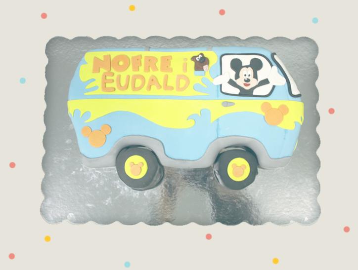 Dolces Idees - Pastel personalizado para Nofre y Eudald - Hansel y Greta