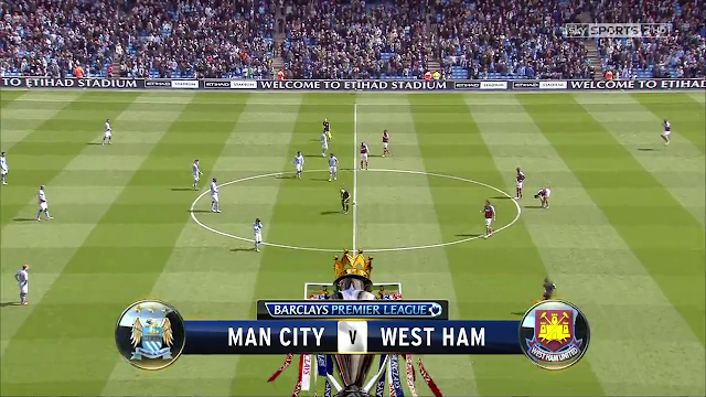 Full match: Manchester City vs West Ham United Premier League 27/03/2013