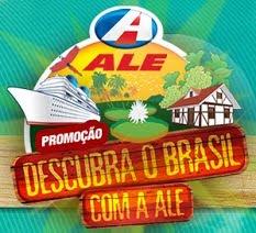 Promoção Descubra o Brasil com ALE