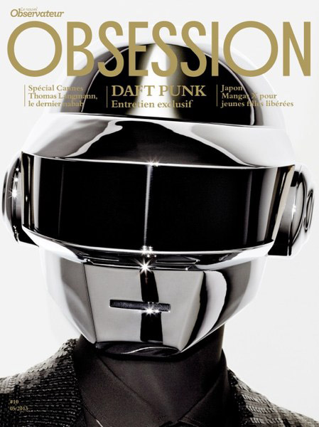 Daft Punk Obsession Magazine Cover 2013