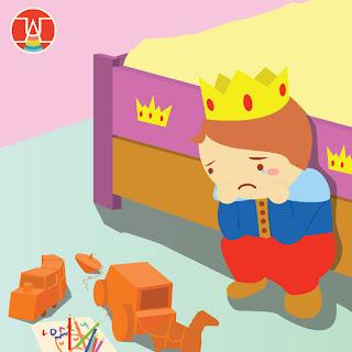 pangeran kecil yang kesepian