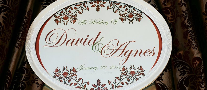 Agnes and David Official Wedding Blog