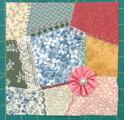 Crazy quilt patch #2