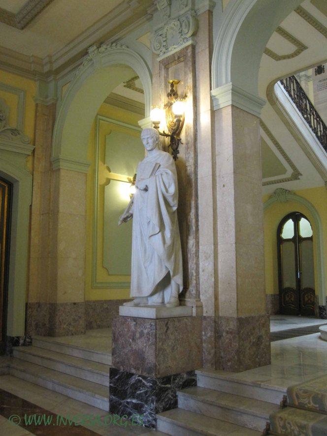 Escultura de Justiniano, Lorenzo Coullaut Valera
