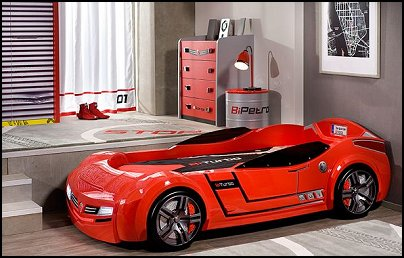 Twin Race Car Bed Toddler Car Beds Themed Beds Boys Cars