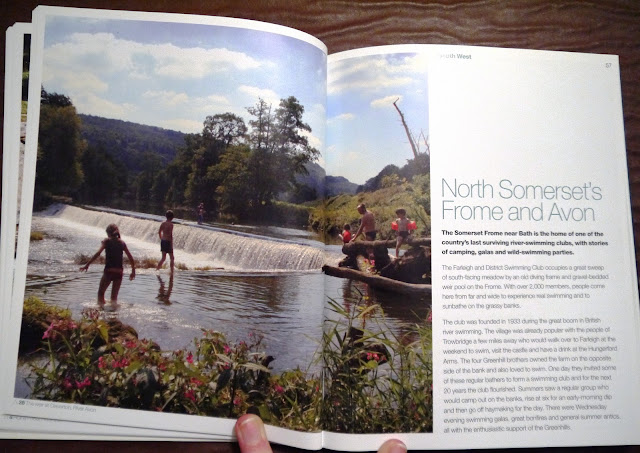 Wild Swimming by Daniel Start book