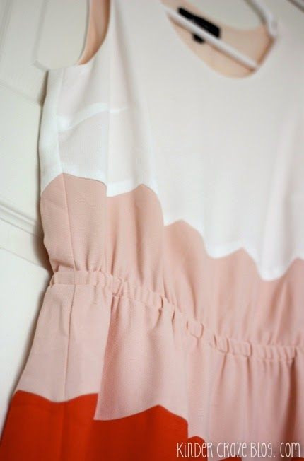 love this scalloped colorblock dress from Stitch Fix