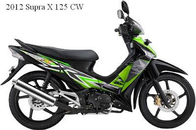 Honda Supra X 125 CW 2012