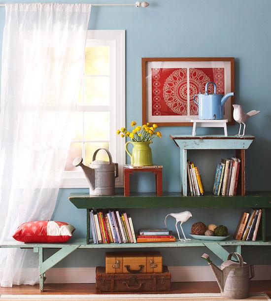 More flea market decorating cozy little house - Objetos de decoracion vintage ...