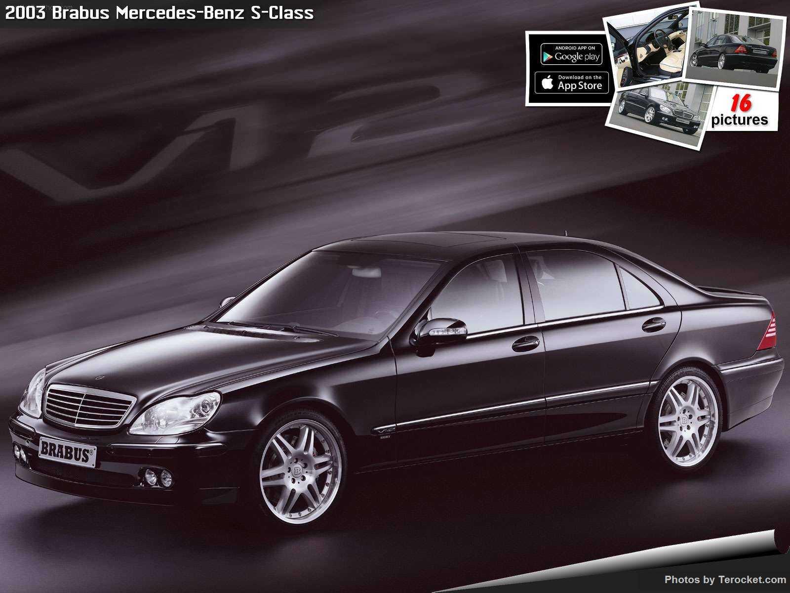 Hình ảnh xe ô tô Brabus Mercedes-Benz S-Class 2003 & nội ngoại thất