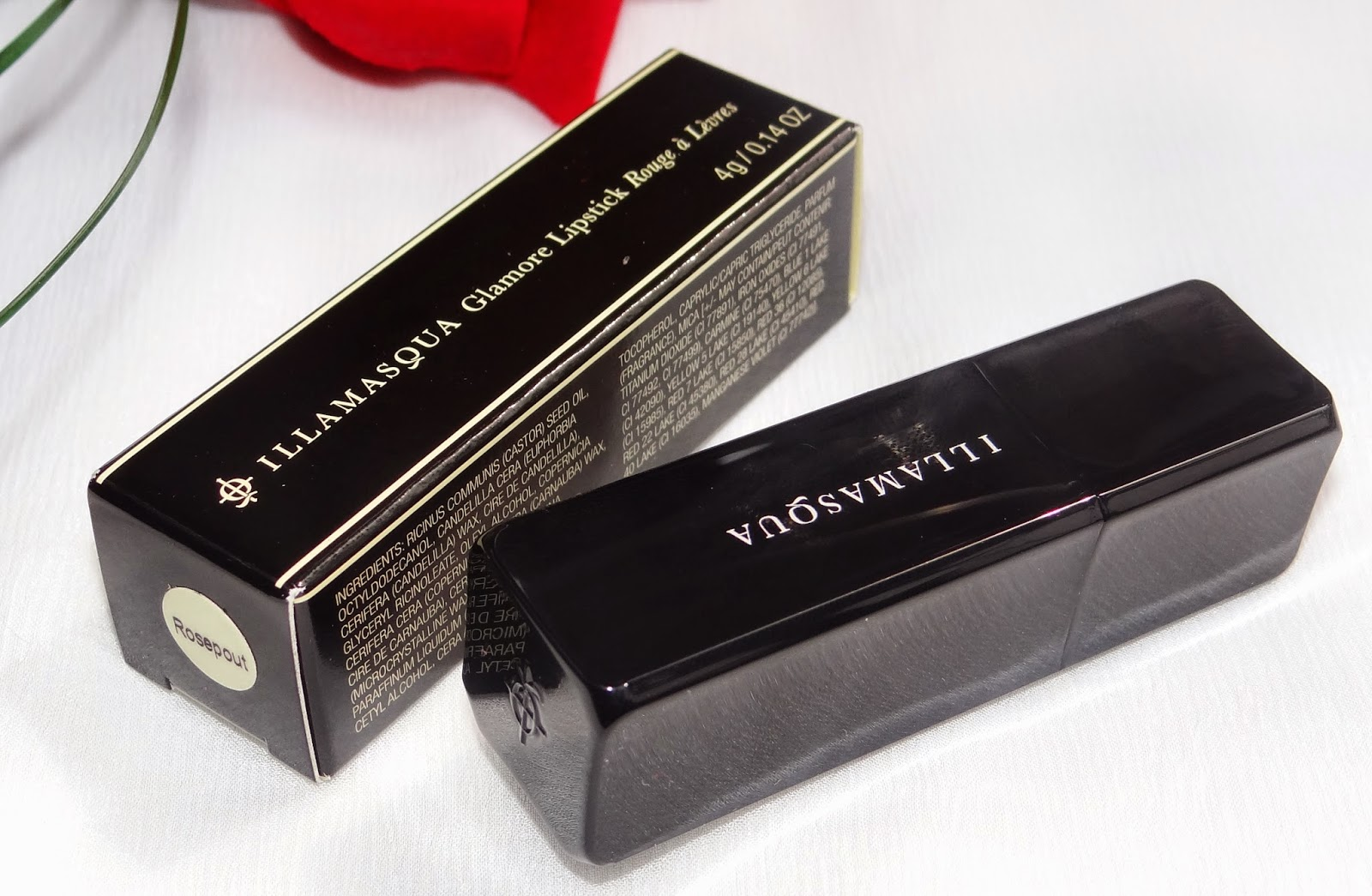 Illamasqua Glamore lipsticks Review and Swatches