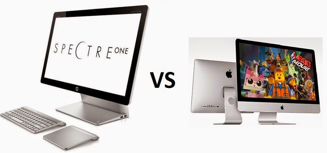 HP Spectre One против Apple iMac 21,5