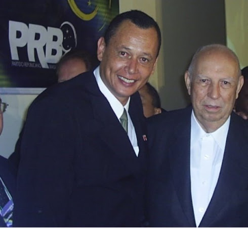 RENE DO RAP & VICE PRESIDENTE DA REPUBLICA JOSE ALENCAR SP
