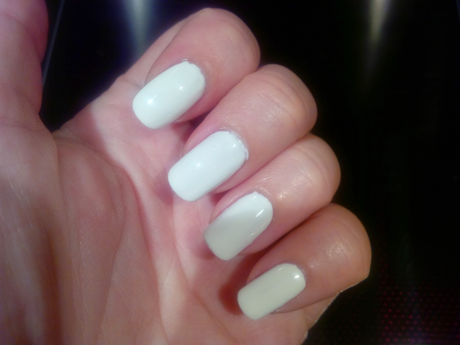 Nailways New Nailways Nails Simply White With Homemade Decals