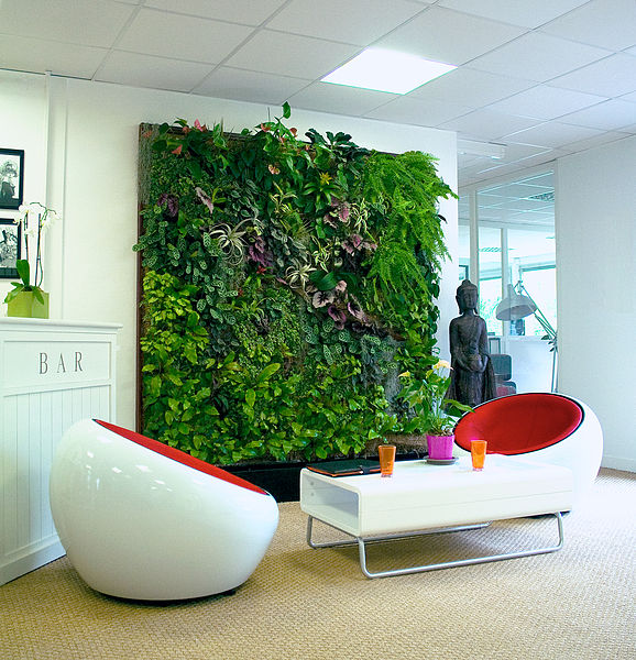 Biotecture, living wall, Green wall,