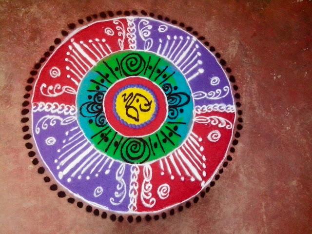 Dhanteras Rangoli Design 15