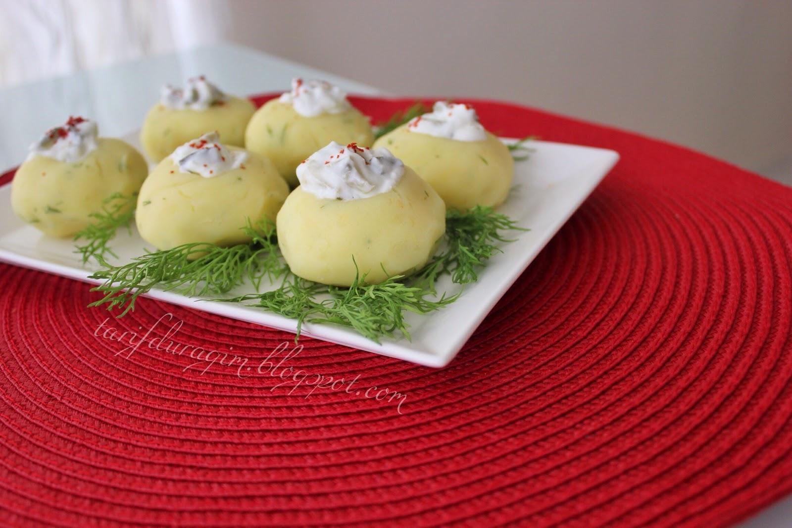 Yoğurtlu patates çanağı tarifi