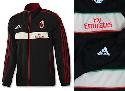 Jaket Ac Milan Home 2012-2013