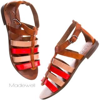 sandalet kC4B1rmC4B1zC4B1 gladyatC3B6r - Sandaletler Geri D�n�yor