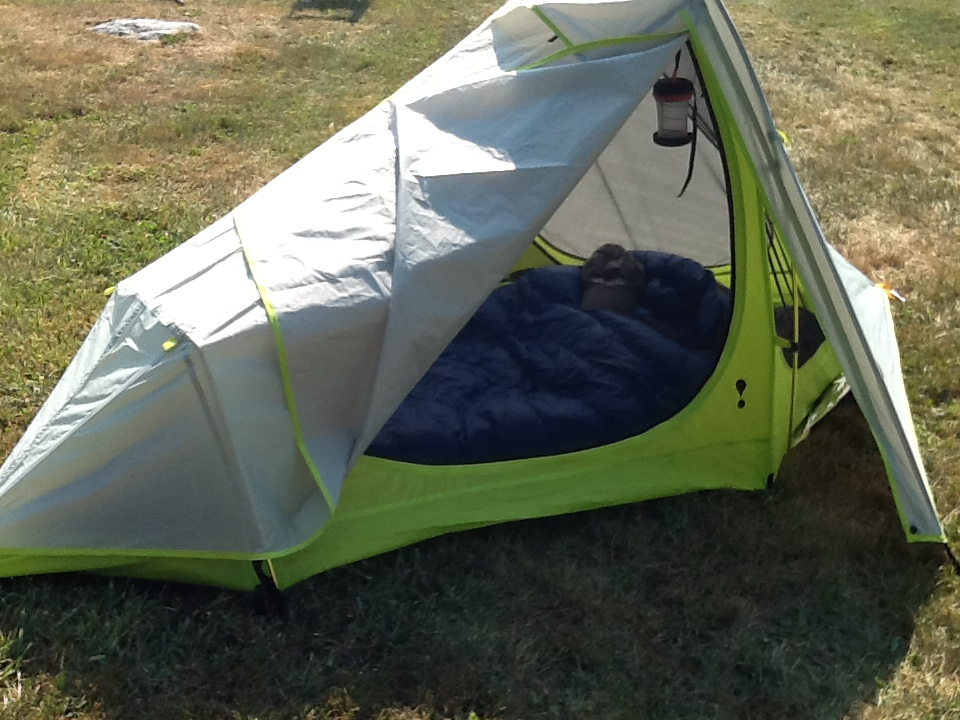 My cousin ordered a new tent as well. She went with a Eureka Spitfire 1 person tent. And while it appears she took her time and waited to set up her new ... & Hiking 40 For My 40th: Itu0027s Here!