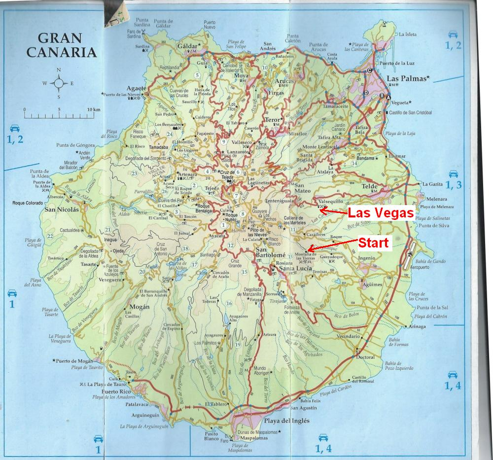dutchlink Hike Gran Canaria 15 Dec 2012 Guayadeque to Las Vegas