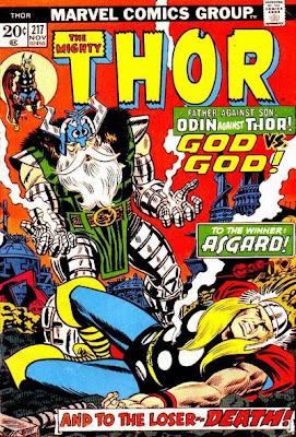 Thor #217, Odin