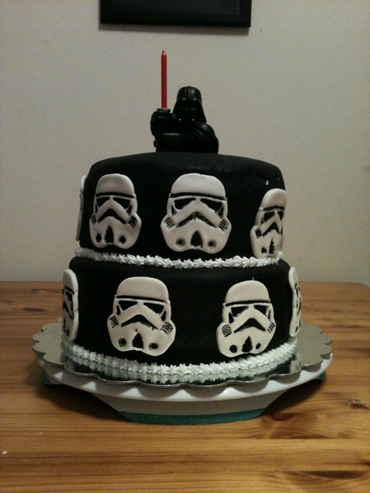 Sweet Ds Cakery May The Force Be With You Darth Vader