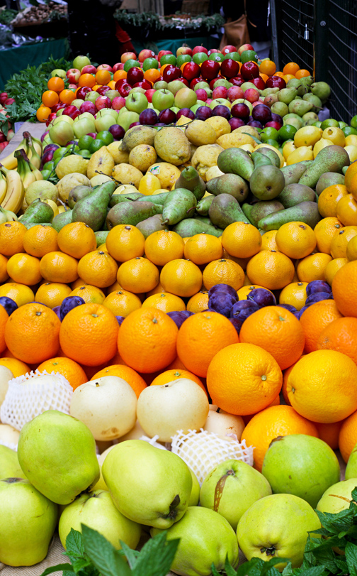 antioxidant-rich fruits and vegetables