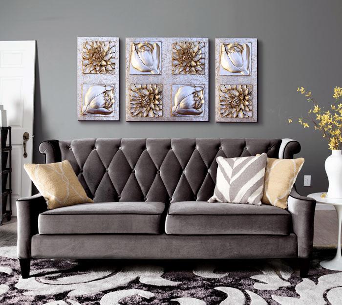 Sensaciones de hogar cuadros decorativos online - Cabeceros plateados ...