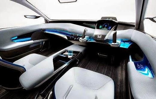 2016 Honda FCEV interior