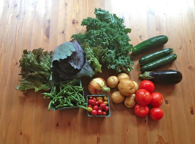 organic CSA share