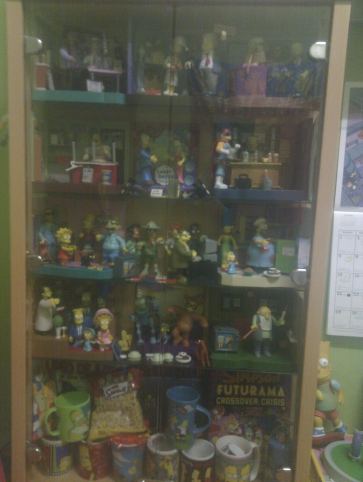 Mi coleccion de los Simpsons - Muñecos Simpsons