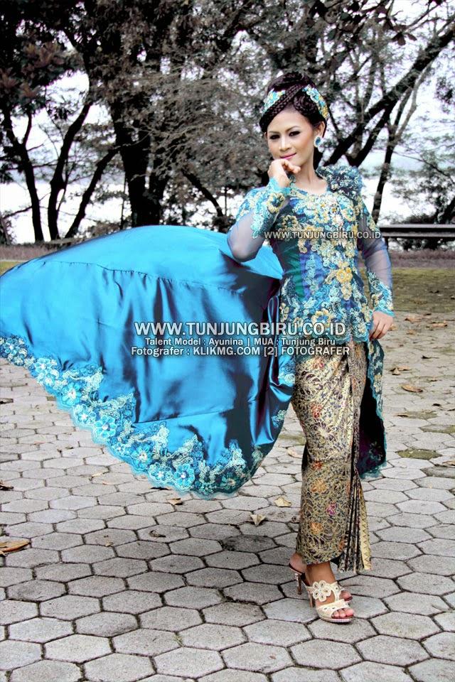 Kebaya Bridal & Make Up Elegant oleh TUNJUNGBIRU.CO.ID Rias Pengantin Purwokerto | Talent : Ayunina [ Model Purwokerto ]- fotografer : Klikmg Photography & Model Agency