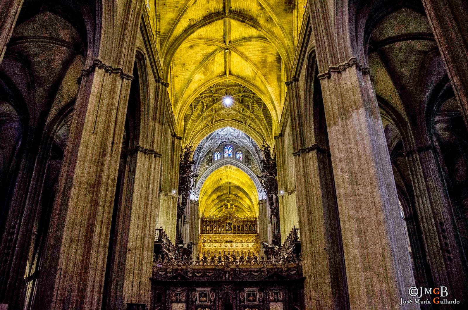 Mis fotos de sevilla catedral de sevilla interior - Catedral de sevilla interior ...