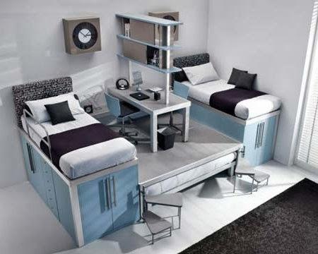 Dormitorio infantil en espacio pequeÑos   como decorar dormitorios ...