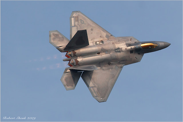 f-22 raptor afterburner
