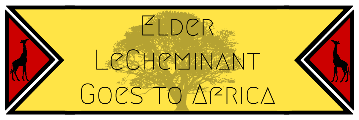 Elder LeCheminant Goes to Africa