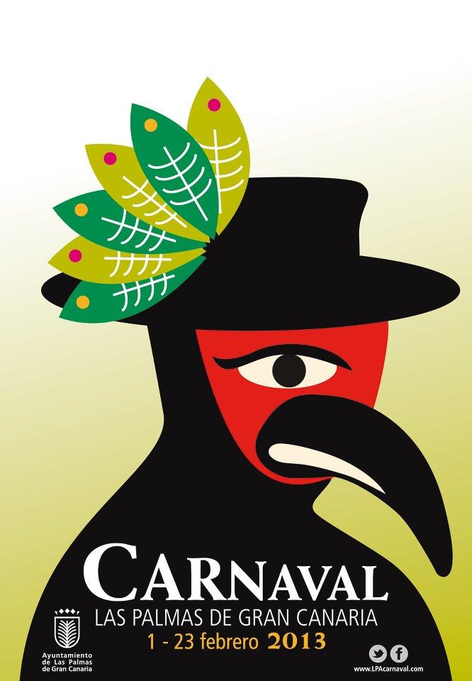 Cartel del carnaval de las palmas de gran canaria 2013 - Gran canaria tv com ...