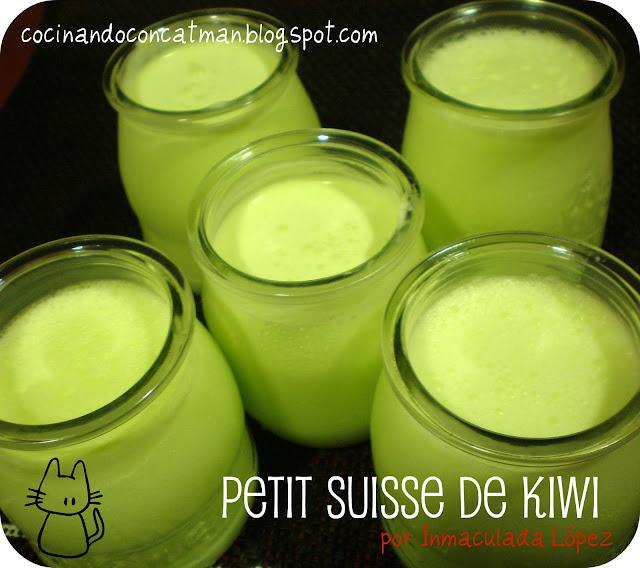 petit suisse de kiwi