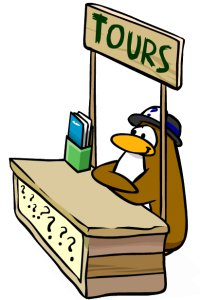 Club Penguin Tour Guide cheats
